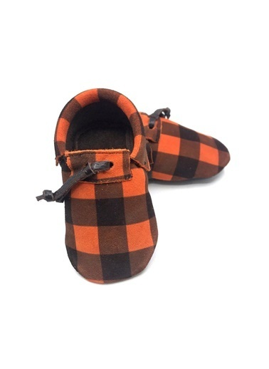 Moots Moots Turuncu Ekose Ayakkabı Oranj